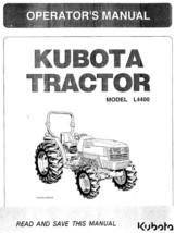 KUBOTA TRACTOR L4400 OPERATORS  MANUAL REPRINTED COMB BOUND - $14.15