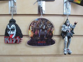 Set of 3 - KISS / GENE SIMMONS Ornaments - New with Tags - $19.95