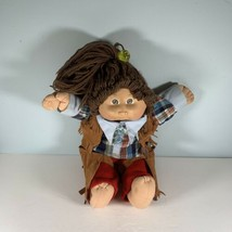 Cabbage Patch Doll Western Outfit Girl Brown Hair Brown Eyes Xavier Roberts - $29.69