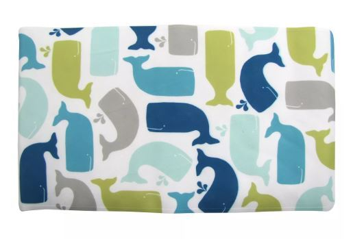 Pillowfort  Kid's Bath mat WHALE PATTERN    -