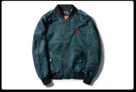 Autumn Ma1 Jacket Bomber Coat Thin Men Hip Hop Fashion2 Streetwear Us si... - $54.20