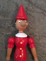 "17"" Wooden hinged Pinocchio  poseable doll - $9.89"
