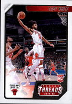 Coby White 2019-20 Panini Chronicles Threads Rookie Card #95 - $2.00