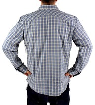 LEVI'S MEN'S LONG SLEEVE BUTTON UP CASUAL DRESS SHIRT GRAY 3LMLW120CC size XL image 2