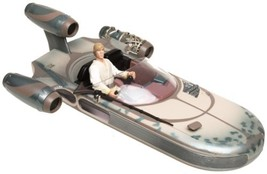 "Star Wars: Luke Skywalker and Landspeeder with mobile ""hovering"" effect - $51.98"