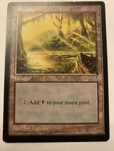 MTG Magic The Gathering Card Swamp Land 1996 - $0.98