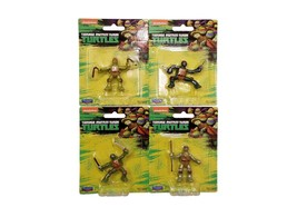 Nickelodeon Teenage Mutant Ninja Turtles Mini Figures by Playmates