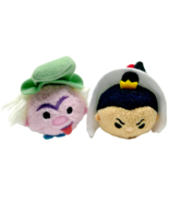 Disney Alice in Wonderland Tsum Tsums Plush Mad Hatter Queen of Hearts S... - $12.09