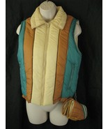 SKIMO by SUSIES CASUALS Vtg Puffy Ski Vest Medium Matching Mittens  - $28.70