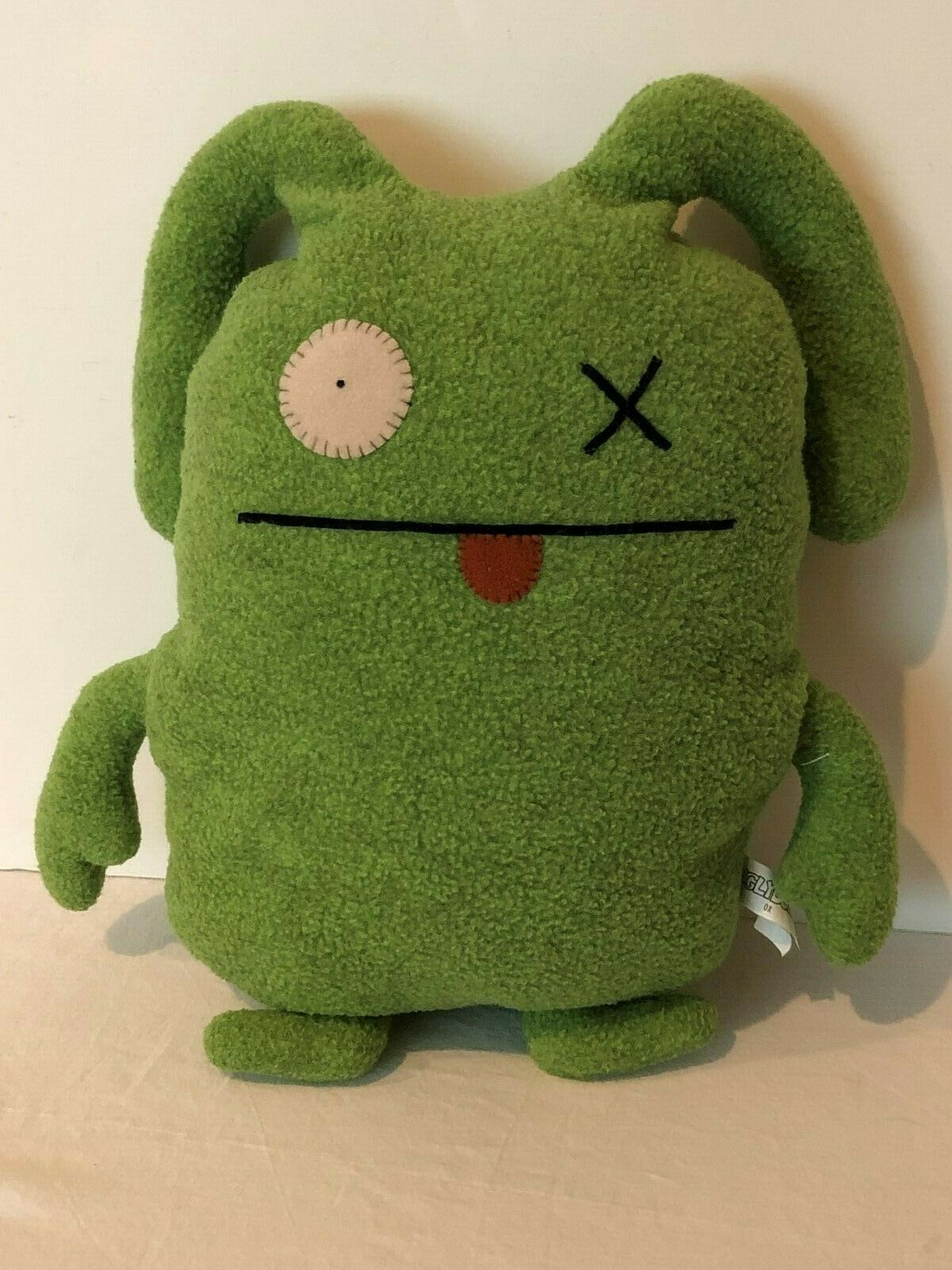 "Primary image for UglyDoll OX Ugly Classic Plush Doll 2004 Stuffed Animal 12"" Green"