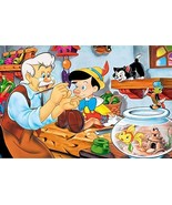Pinocchio Birthday Personalized Edible Frosting Image 1/4 sheet Cake Topper - $9.99