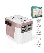 Travel Plug Adapter, SoloWIT Universal Power Adapter Plug Converter Worl... - $17.83