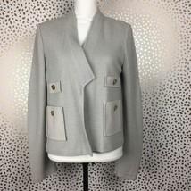 St. John Womens Jacket Open Front Blazer Cardigan Size 8 - $82.24