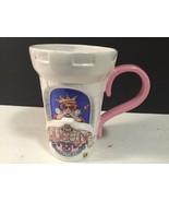 The Queen Of Everything Mary Engelbreit Tall Large Cup Mug ME Lovely - $18.49