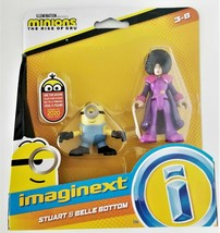 """Minions The Rise of Gru by Imaginext """"Stuart & Belle Bottom"""""""