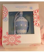 New Wedgwood Blue & White Jaspeware NeoClassical Bauble Christmas Tree O... - $37.99