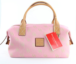 Dooney & Bourke Small Duffel Dusty Pink Satchel... - $158.40