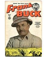 FRANK BUCK #70 WALLY WOOD ART JUNGLE TIGER APE FOX 1950 VG - $94.58
