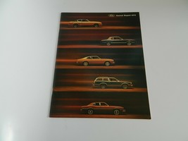 Ford 1973 Annual Report Brochure - $22.50