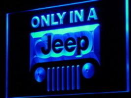 LED Neon Light Sign Jeep  Truck Auto Car  Shop Garage - $29.99