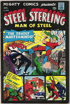 Mighty Comics Presents Comic Book #49, Archie Steel Sterling 1967 FINE- - $15.00