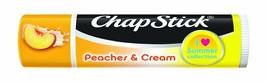ChapStick peaches & cream Moisturizing Lip Balm Lip  Limited Edition Sea... - $3.58