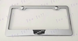 For Cadillac Crest Escalade Stainless Steel License Plate Frame Rust Free - $13.85