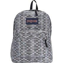 JanSport Superbreak Student Backpack- Forge Grey Kente - $29.99
