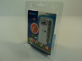 Sprinters Mini 4 Port USB Hub 2.0 Pocket Size Plug and Play UH-374AP - $14.93