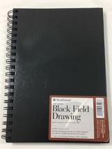 "Strathmore 400 Series Black Field Drawing 50 Sheets 7"" x 10"" Acid Free N... - $24.75"