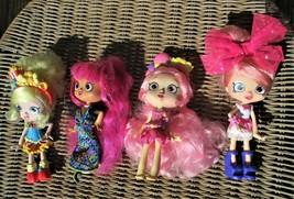 La Dee Dah Doll Bundle of 4 Fashion Dolls  Spin Master Big Eyes - $14.80
