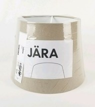 "Ikea Jara Beige Lamp Shade 7.5"" Tall x 10"" Wide 503.283.59 - $18.80"
