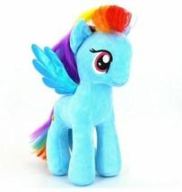 Kid Girl Unicorn Horse Plush Stuffed Animal Toy Baby Infant Birthday Gift Blue - $9.89