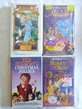 lot of 4 VHS tapes SEE PICS Bin  #12 - $13.98