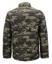 Men's Reversible Camo Lightweight Insulated Quilted Packable Puffer Zip Jacket image 4