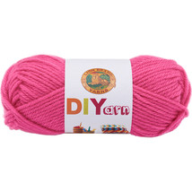 Lion Brand DIYarn  Hot Pink. - $6.24