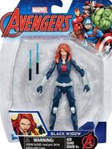 """AVENGERS BLACK WIDOW 5"""" Action Figure, MARVEL COMICS, 2016, Hasbro, In P... - $6.85"""