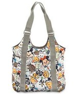 Disney Store Tsum Tsum Tote Shoulder Bag Mickey Mouse Friends Minnie Wal... - $28.49