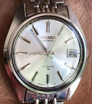 1978 Seiko 7025-8069 Stainless Automatic 17J Beads Of Rice Mens Watch - $241.88