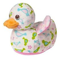 Mary Meyer Plush Bobber Ducky Rattle - Pink - 6 Inches - $18.39