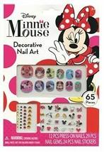 Disney Minnie Mouse Bowtique 65 Piece Decorative Nail Art Kit (NEW) - $6.93