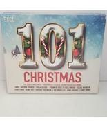 101 Christmas Hits 5 CDs 2017 ABBA Band Aid Stevie Wonder Elton John Chuck Berry - $14.01