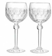Waterford Crystal Curraghmore Balloon Wine Set of 2 Glasses #1050298 New - $218.79