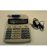 Victor Printing Calculator 12 Digit LCD Gray/Blue 1212-2 - $29.69