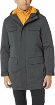 Nautica Parka Jacket Water resistent Charcoal Gray Men Sz S NEW NWT 240 - $78.75