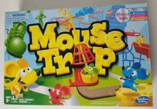 Primary image for Mouse Trap Board Game 2016 Hasbro Mensa Kids