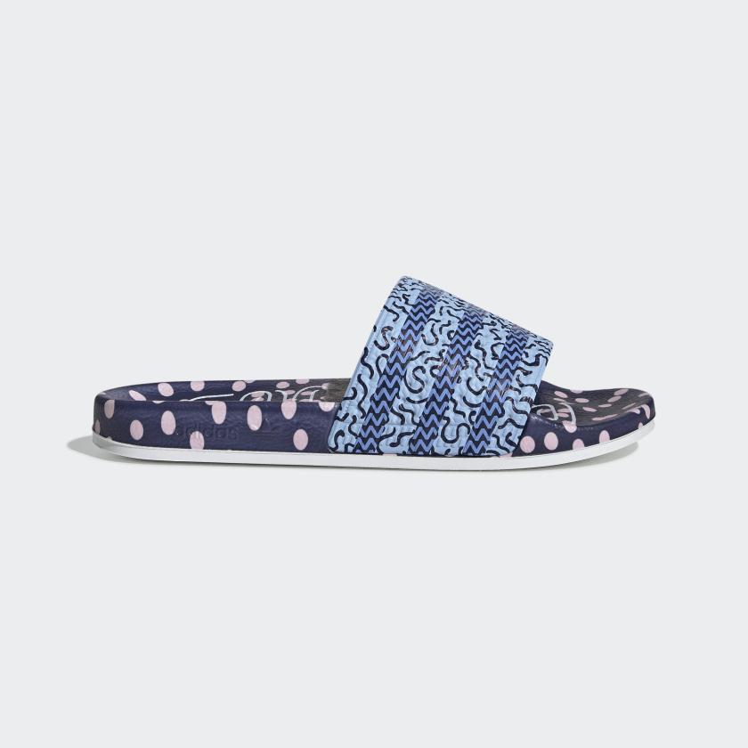 Adidas Originals Women's BLue Adilette Slides EE5055 - $74.89