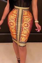 Bohemian Printed Knee Length Skirts - $21.74