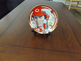 Collectors Plate Featuring  Johnny Bench From The Hamilton Collection 1992 #2068 - $32.00