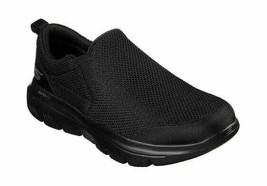 Men's Skechers GOwalk Evolution Ultra Impeccable Slip-On Shoe Black/Black - $79.67